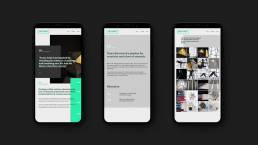 Mobile Page Design