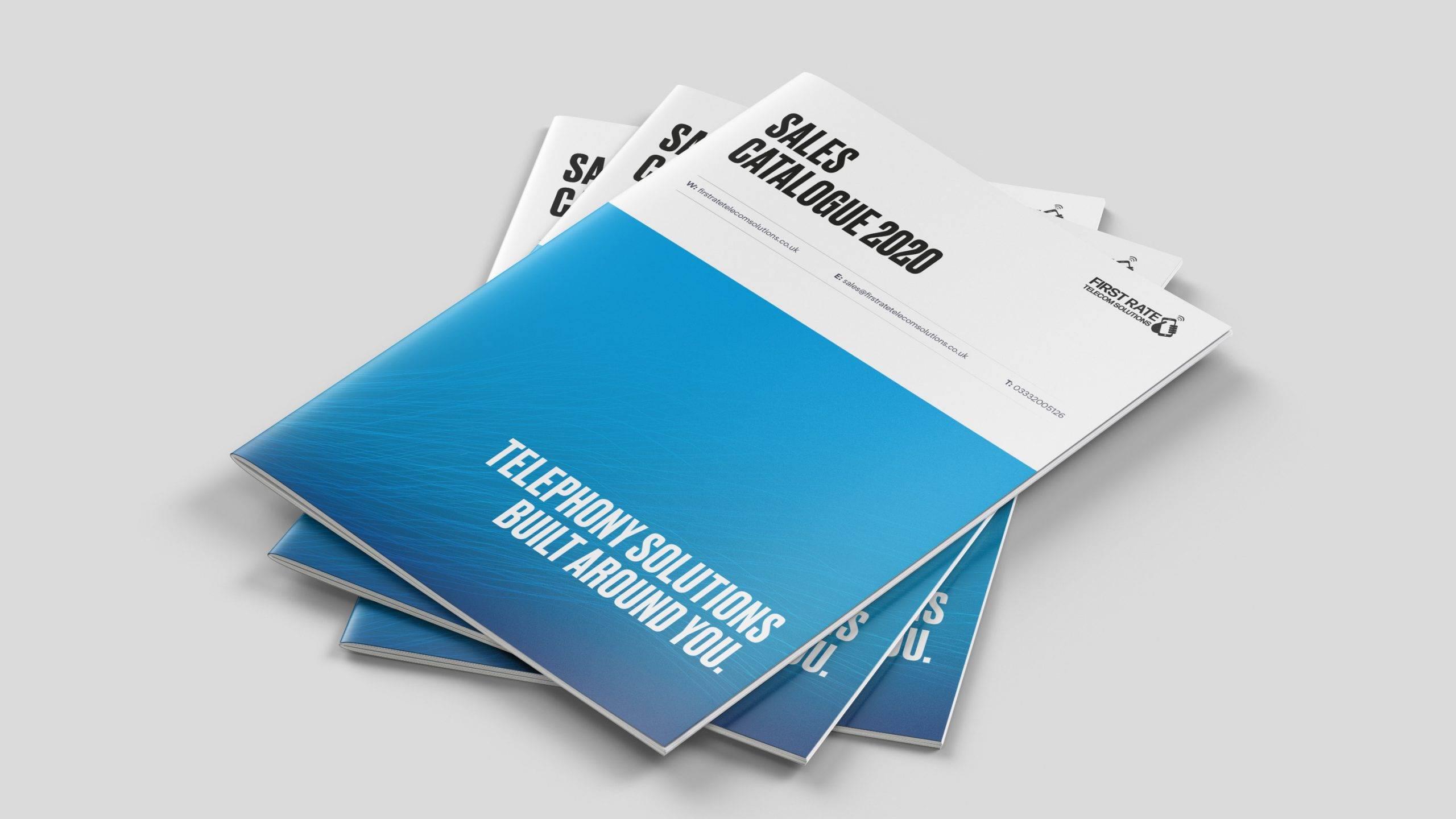 First Rate Telecom Marketing Brochure